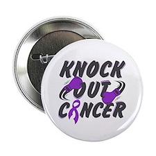 "Knock Pancreatic Cancer 2.25"" Button"