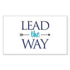 Lead The Way - Rectangle Decal