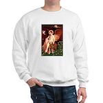 Angel & Golden Retrieve Sweatshirt
