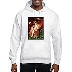 Angel & Golden Retrieve Hooded Sweatshirt