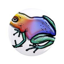 """Cute Chameleon 3.5"""" Button (100 pack)"""