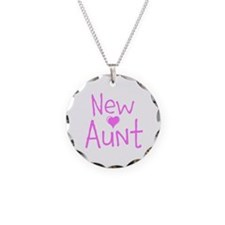 New Aunt Necklace Circle Charm