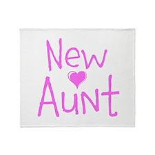 New Aunt Throw Blanket