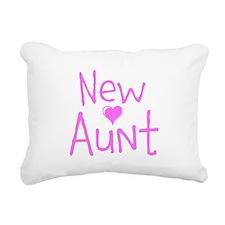 New Aunt Rectangular Canvas Pillow