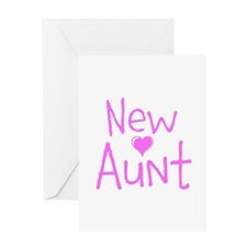New Aunt Greeting Card