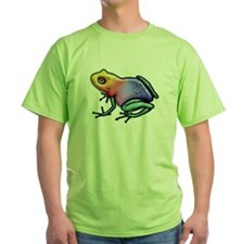 Rainbow Shiny Poison Dart Frog T-Shirt