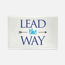 Lead The Way - Rectangle Magnets