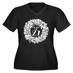 Class Of 2027 floral Plus Size T-Shirt