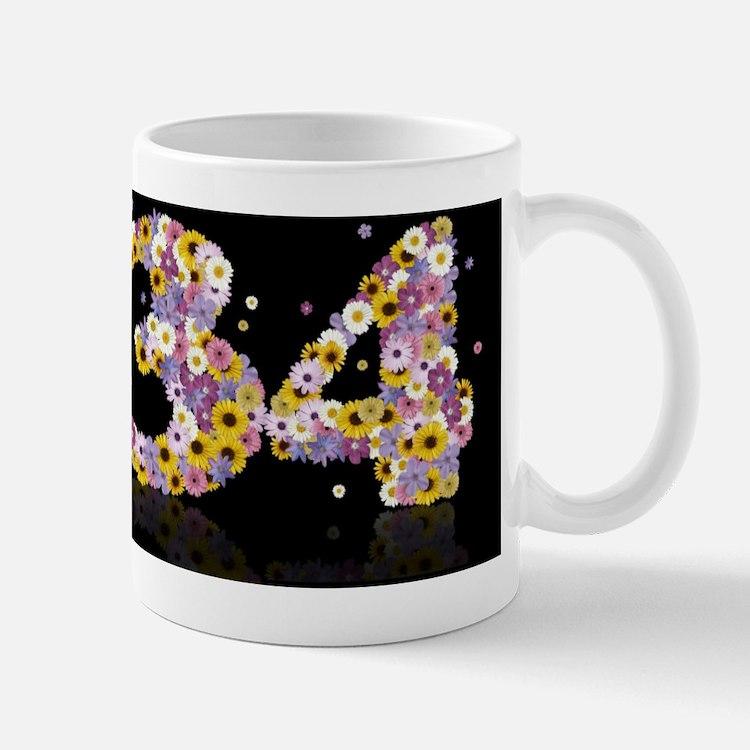 Cute Modern daisies Mug