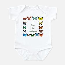 I Live For Lepidoptera Infant Bodysuit