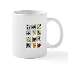Food Squares Mugs