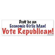 Don't Be \ Vote Republican Bumpersticker