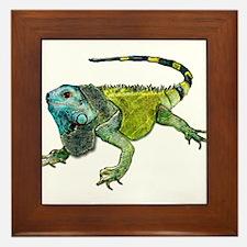 Cute Reptiles Framed Tile