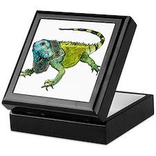 Cool Amphibians and reptiles Keepsake Box