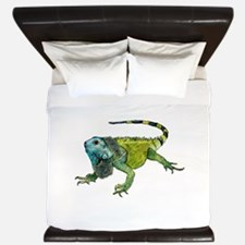 Unique Iguana King Duvet