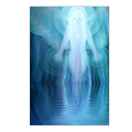 Blue Soul Reflection, 8 postcards