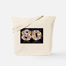 Cute 80th birthday Tote Bag