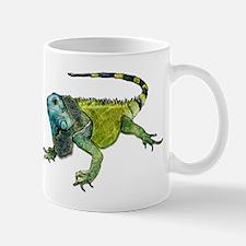 Gorgeous Green Iguana Mugs