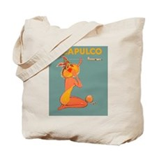 Acapulco, Mexico Vintage Travel Poster Tote Bag