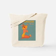 Acapulco, Mexico Vintage Travel Poster Tote Bag