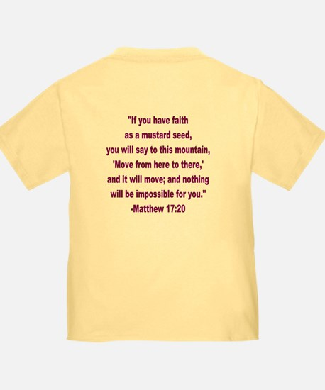 What Did Jesus Say-Mustard Seed T