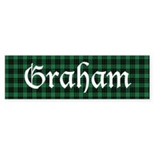 Tartan - Gordon Bumper Sticker