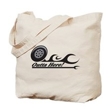 Outta Here! Teacher Gifts Tote Bag