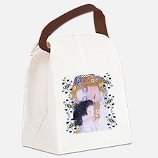 Klimt Art Deco Mother Child Bathm Canvas Lunch Bag