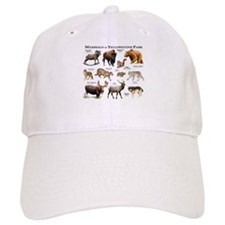 Mammals of Yellowstone National Park Baseball Cap