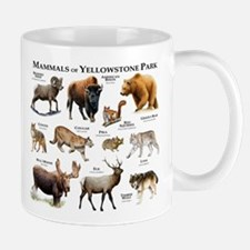 Mammals of Yellowstone National Park Mug