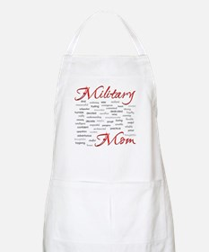 Military Mom poem of words BBQ Apron