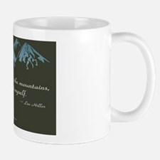 Never Lost in Mountains Mug