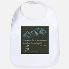 Never Lost in Mountains Bib