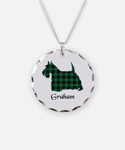Terrier - Graham Necklace Circle Charm