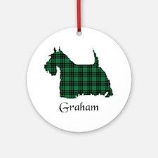Terrier - Graham Ornament (Round)