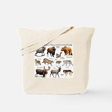 Mammals of Yellowstone National Park Tote Bag