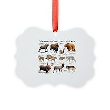Mammals of Yellowstone National P Ornament