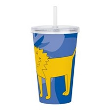 Lion Acrylic Double-wall Tumbler