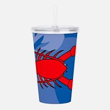 Lobster Acrylic Double-wall Tumbler