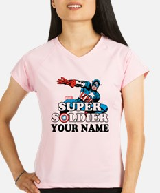 Captain America Super Sold Performance Dry T-Shirt
