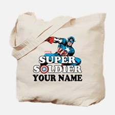 Captain America Super Soldier Personalize Tote Bag
