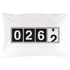 26.2 odometer running Pillow Case