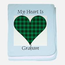Heart - Graham baby blanket
