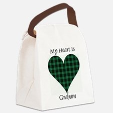 Heart - Graham Canvas Lunch Bag