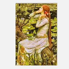 Waterhouse: Ophelia (1894 Postcards (Package of 8)