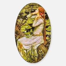 Waterhouse: Ophelia (1894) Decal