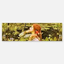 Waterhouse: Ophelia (1894) Bumper Bumper Sticker