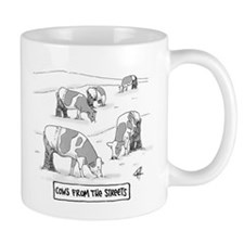 Cows From The Streets Mugs