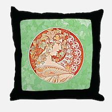 Cute Dorm art Throw Pillow
