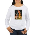 Fairies & Golden Women's Long Sleeve T-Shirt